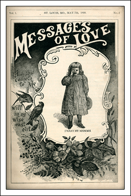 The first issue of Messages of Love