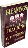Gleanings from the Teachings of G.V. Wigram by George Vicesimus Wigram