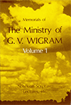 Memorials of the Ministry of G.V. Wigram by George Vicesimus Wigram