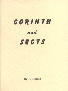 Corinth and Sects by Richard Holden