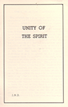 The Unity of the Spirit by John Nelson Darby