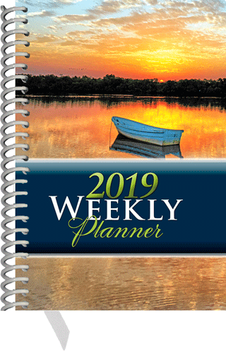 2019 Inspirational Weekly Planner: Pocket Edition