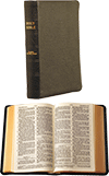 JND Bible: Modified-Notes Edition, Minion Type (Medium) by John Nelson Darby
