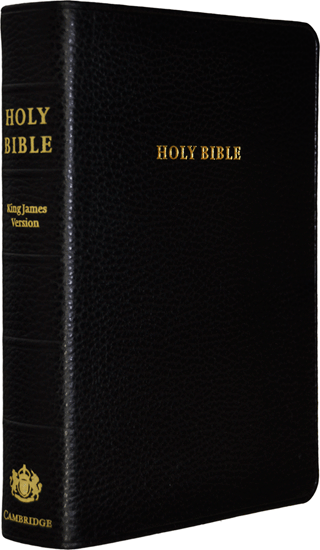 Cambridge Clarion Paragraph Style Reference Bible: BKC by King James Version