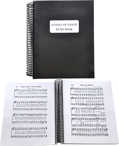 Echoes of Grace Hymn Book: Large Music Edition