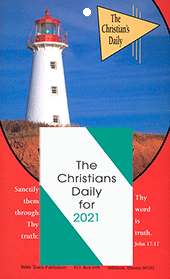 2021 Christian's Daily Calendar: Complete