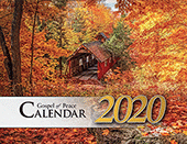 2020 The Gospel of Peace Scenic Appointment Calendar: With Monthly Gospel Verses
