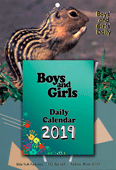 2019 Boys and Girls Daily Calendar: Complete