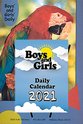 2021 Boys and Girls Daily Calendar: Complete