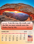 2019 English Joyful News Gospel Calendar