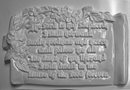 Plaster Casting Mold: The Lord is my Shepherd Psa. 23:1