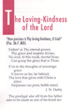 The Loving-Kindness of the Lord by John Nelson Darby