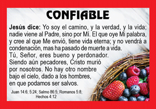 Spanish Gospel Pocket (Wallet) Calendar (#3003) - Bible Truth Publishers
