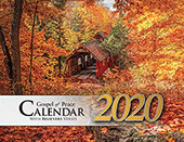 2020 The Gospel of Peace Scenic Appointment Calendar: With Monthly Verses for Believers
