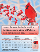 2019 Italian Joyful News Gospel Calendar