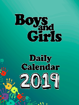 2019 Boys and Girls Daily Calendar: Block Only