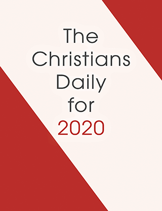 2020 Christian's Daily Calendar: Block Only