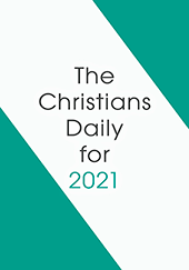 2021 Christian's Daily Calendar: Block Only