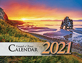 2021 The Gospel of Peace Scenic Appointment Calendar: With Daily and Monthly Verses for Believers