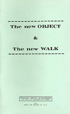 New Object & the New Walk by Roy A. Huebner