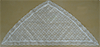 Ivory Regular Triangle Mantilla by Lucht Lace