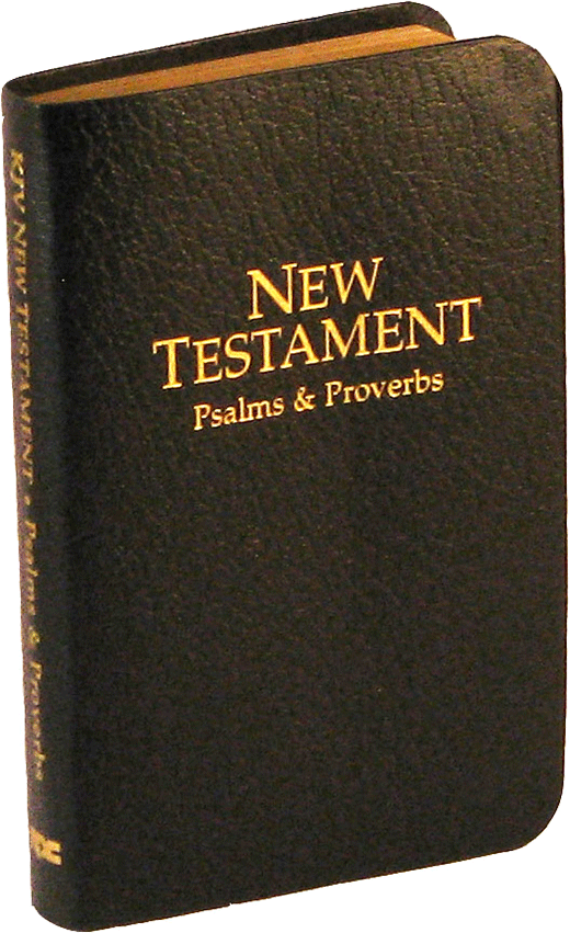 National Deluxe Vest Pocket New Testament, Psalms, Proverbs
