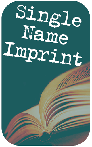 Single Name Imprint: On Front Cover