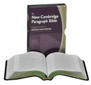 Cambridge New Single-Column Paragraph Style Reference Bible: CLBK by King James Version
