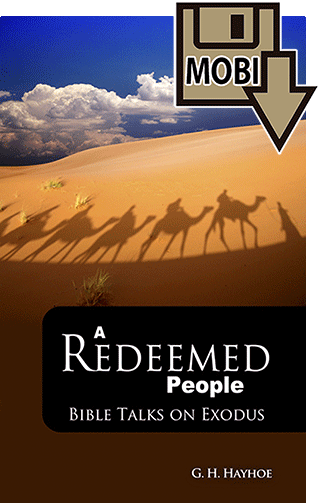 A Redeemed People: Bible Talks on Exodus by Gordon Henry Hayhoe
