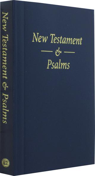 TBS Pocket New Testament and Psalms: 42, SBL, KJV (#40568