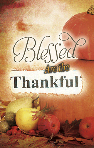 Blessed Are the Thankful