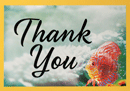 Thank You Tip Card: Tropical Fish
