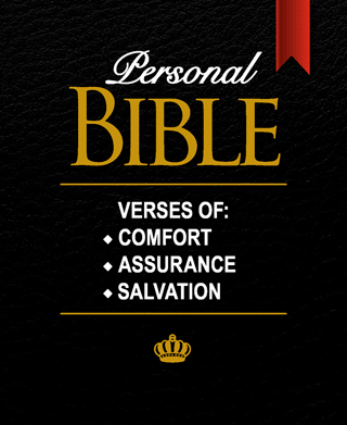 Personal Mini Bible: Verses of Assurance, Comfort, and Salvation by King James Version