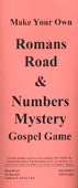 Make Your Own Romans Road & Numbers Mystery Gospel Game by John A. Kaiser & E.L. Dyess