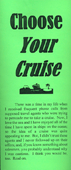 Choose Your Cruise by John A. Kaiser