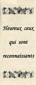 Heureux ceux qui sont reconnaissants: Blessed Are the Thankful by John A. Kaiser
