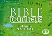 The Patriarchs Puzzle Book: Bible Journeys Volume 1 by TBS