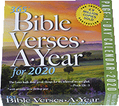 365 Bible Verses-A-Year: RETIRED AND REPLACED BY #43556 FOR 2021 by Workman Publishing, King James Version
