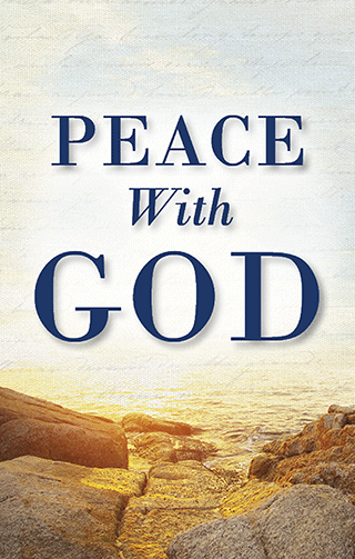 Gospel Tract, Peace With God, Full-Color Tract, S  Rule Peace (#5614