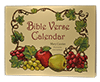 Bible Verse Calendar, Appointment Style: A Children's Make-Your-Own Coloring Calendar by Mary Currier