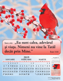 2019 Romanian Joyful News Gospel Calendar