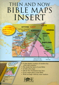 Then and Now Bible Maps Insert by Rose Publishing