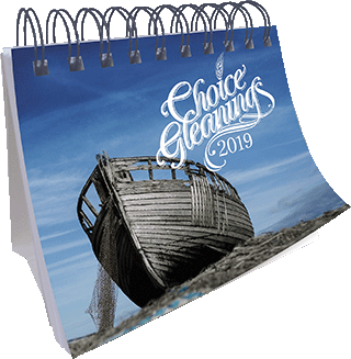 2019 Choice Gleanings Calendar