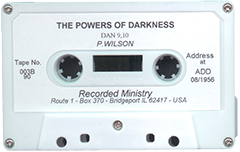 The Powers of Darkness by Paul Wilson
