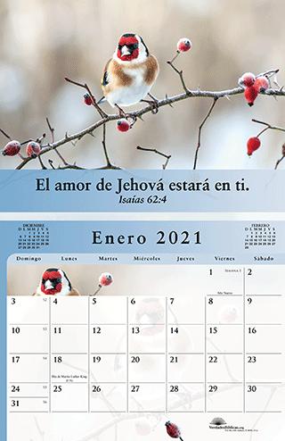 Spanish Calendario El Evangelio de Paz Para Creyentes, A todo