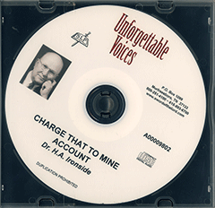 Charge That to Mine Account by Henry Allan Ironside