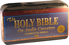 KJV Bible: Complete Bible, Narrated by Alexander Scourby