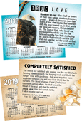 2019 Custom Gospel Pocket (Wallet) Calendar: Personalized Edition, per Specified Imprint