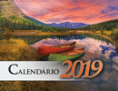 2019 Portuguese The Gospel of Peace Scenic Appointment Calendar: With Monthly Gospel Verses