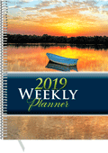 2019 Inspirational Weekly Planner: Desk Edition